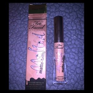 3 for $25 too faced melted matte-tallic